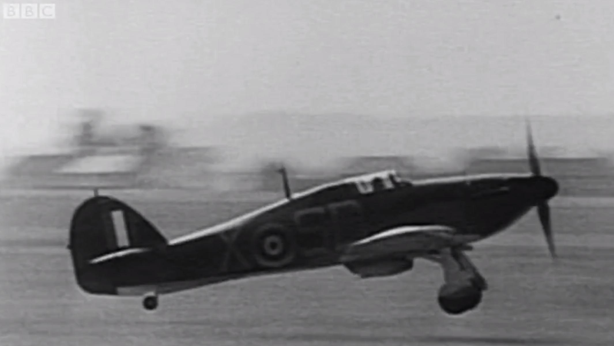 RAF 501 Squadron Hawker Hurricane SD-X Battle Of Britain 1940