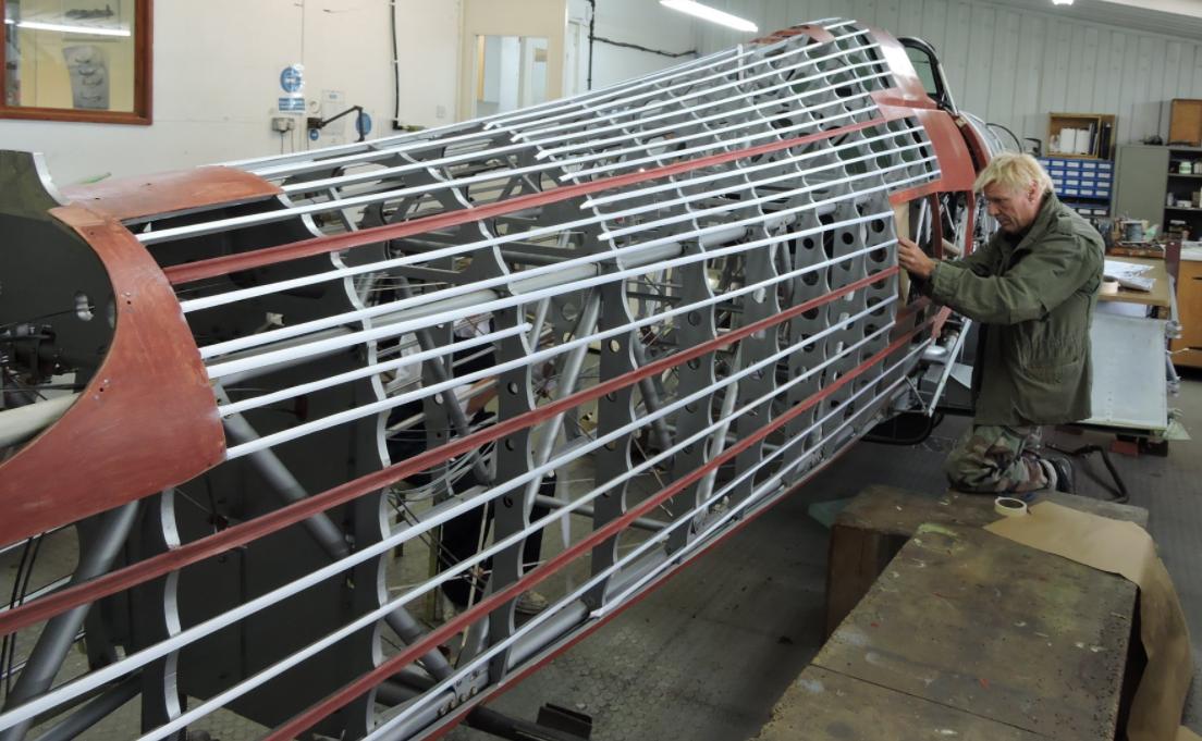 Hawker Hurricane V7497 restoration update - November 2016