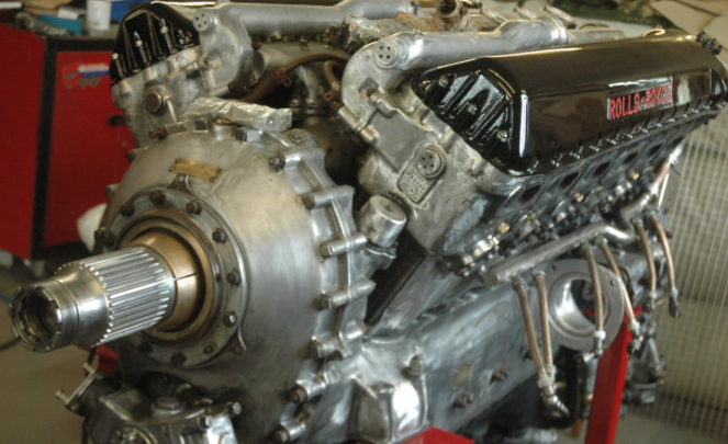 Hawker Hurricane Mk.I - Rolls Royce Merlin Mk.III